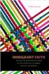 Canada, USA, Europe, immigration, migrants, immigrant faith, new york university press, book, religion