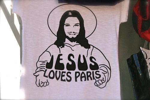 Pamela Poole, Jesus loves Paris, marketing, religion, paris, beaubourg